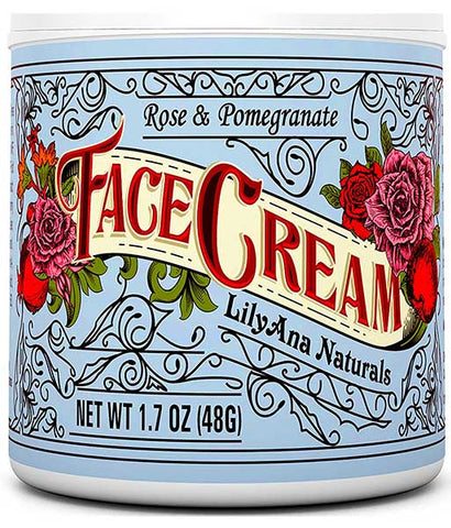 Face Cream Moisturizer by LilyAna Naturals