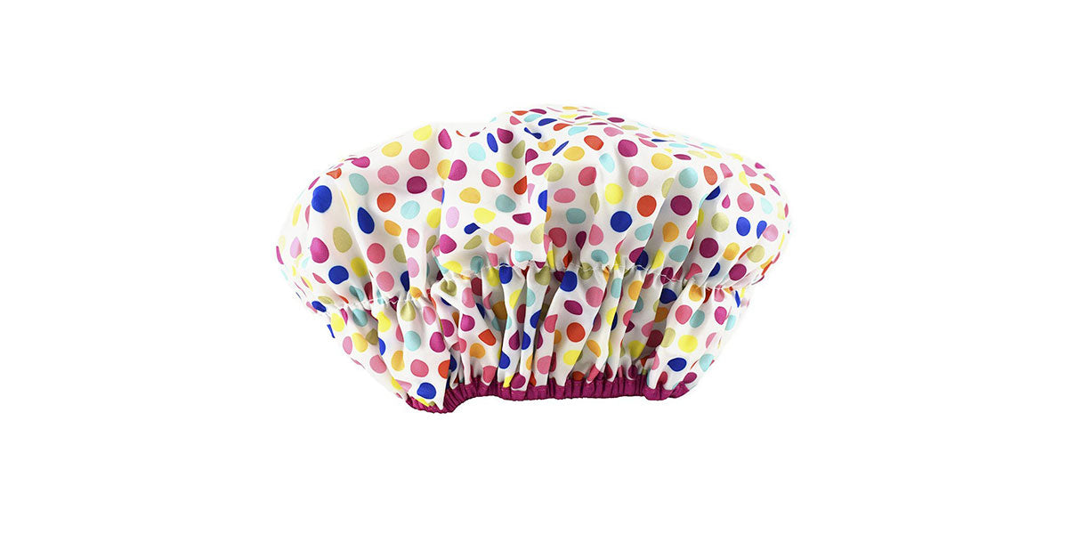 Betty Dain Fashionista Collection Mold Resistant Lined Shower Cap