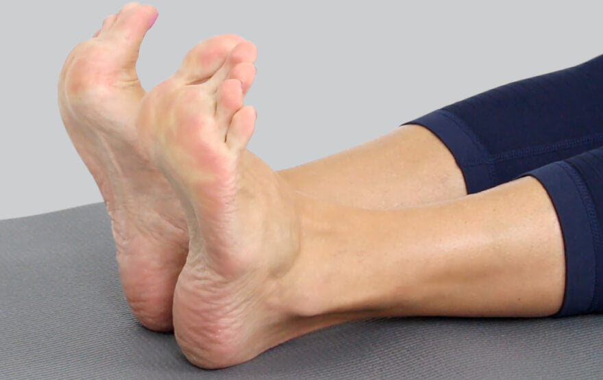 Foot and toe stretch