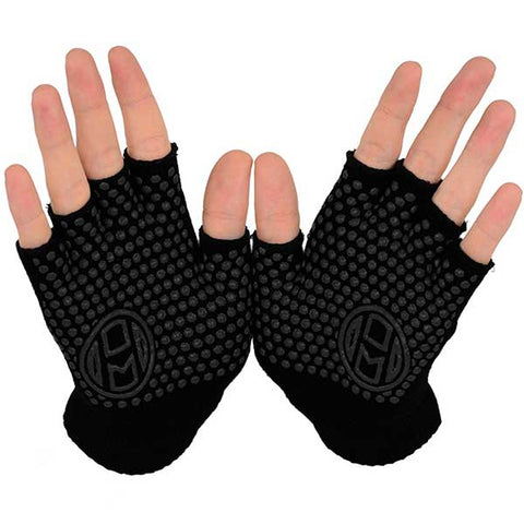 Fingerless Exercise Grip Gloves by Mato & Hash