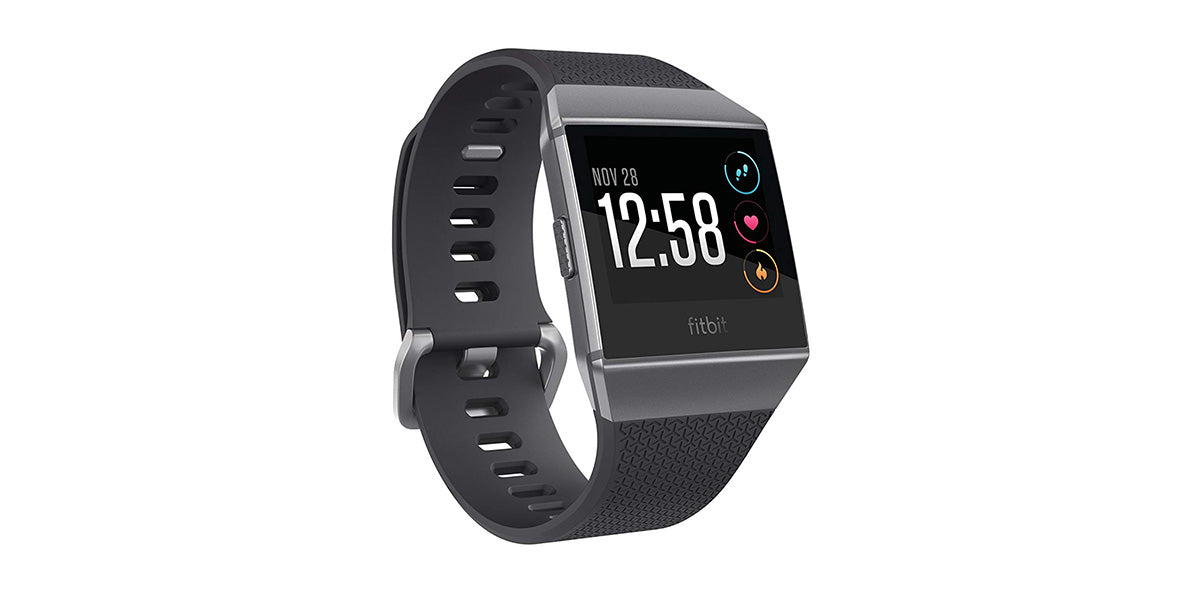 Fitbit Ionic Smartwatch, Charcoal/Smoke Gray