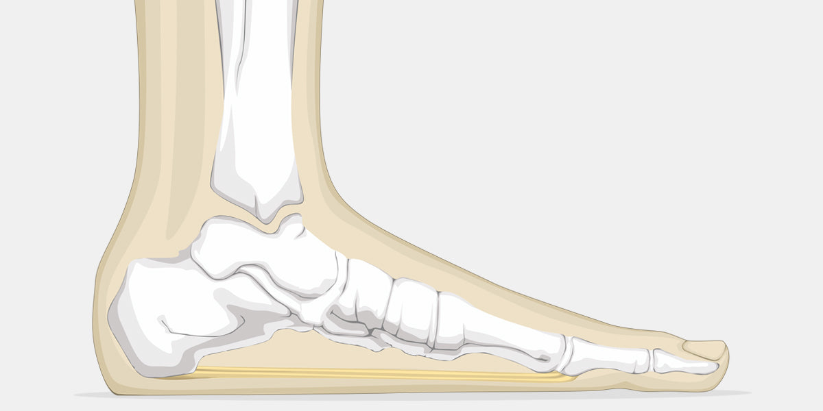 Flat Foot Illustration