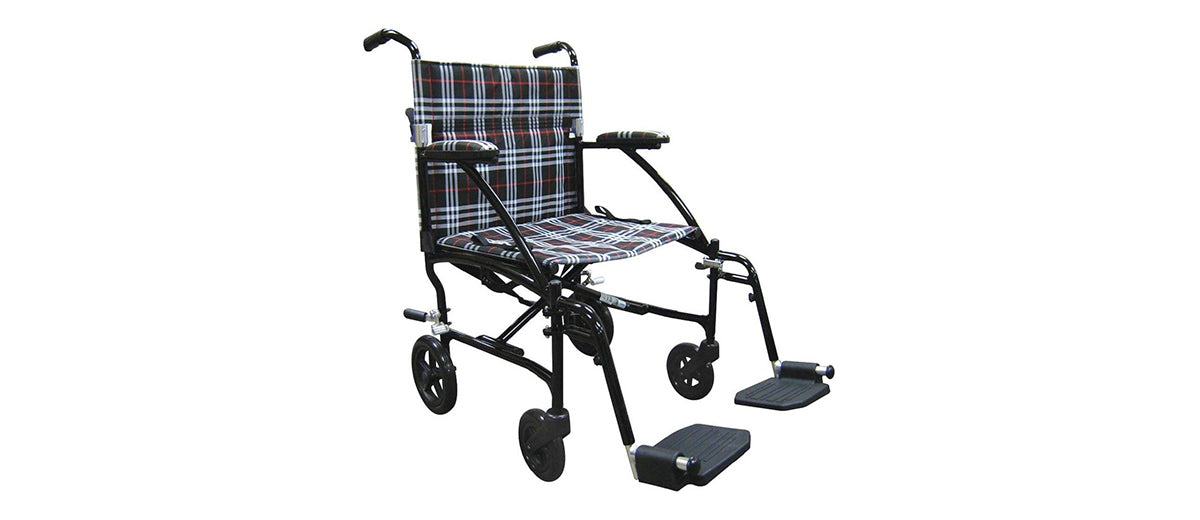 Fly Lite Ultra Transport Wheelchair by Drive Medical