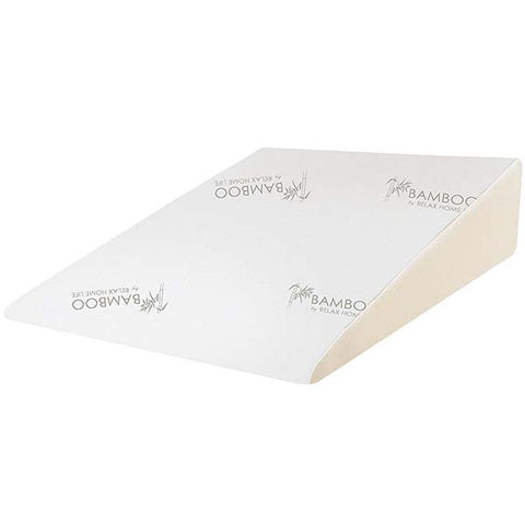 Foam Bamboo Pillow Wedge by Relax Home Life