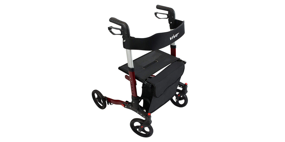 Folding Rollator Walker by Vive