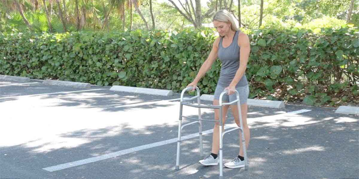 Folding Walker by Vive