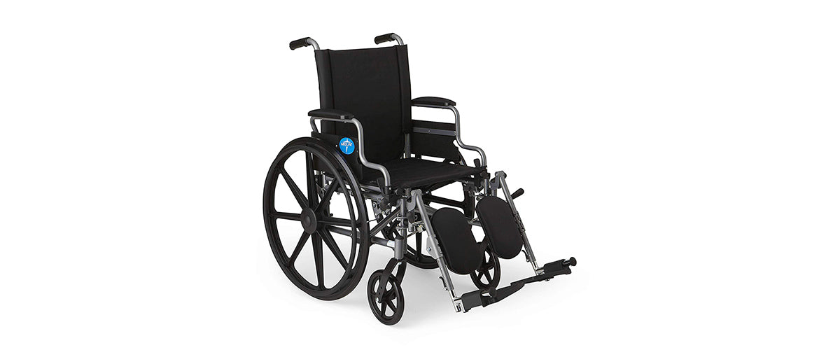 Folding Wheelchair by Medline