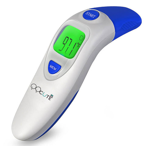 Forehead and Ear Clinical Digital Thermometer by QQCute