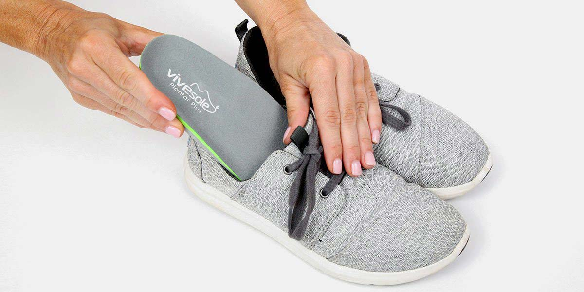 Full Length Insoles - Plantar Plus by ViveSole