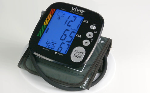 Black blood pressure monitor