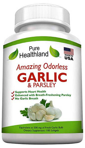 Garlic And Parsley Supplement by Pure Healthland