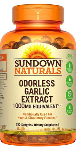 Garlic Softgels by Sundown Naturals