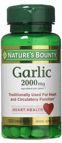 Garlic Tablets by Nature's Bounty