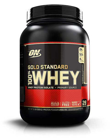 Gold Standard 100% Whey Protein Powder by Optimum Nutrition