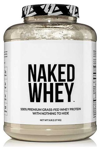 Grass Fed Whey Protein Powder by NAKED WHEY