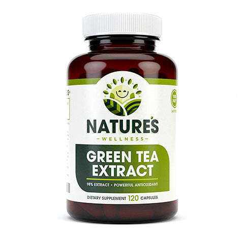 Green Tea Extract Capsules by Nature's Wellness