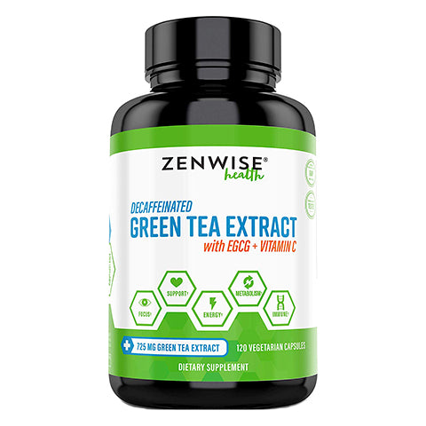 Green Tea Extract with Vitamin C by Zenwise Health