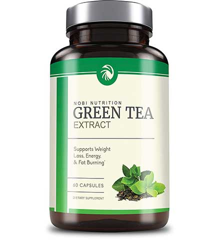 Green Tea Extract with EGCG by Nobi Nutrition