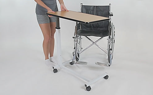 works over wheelchair