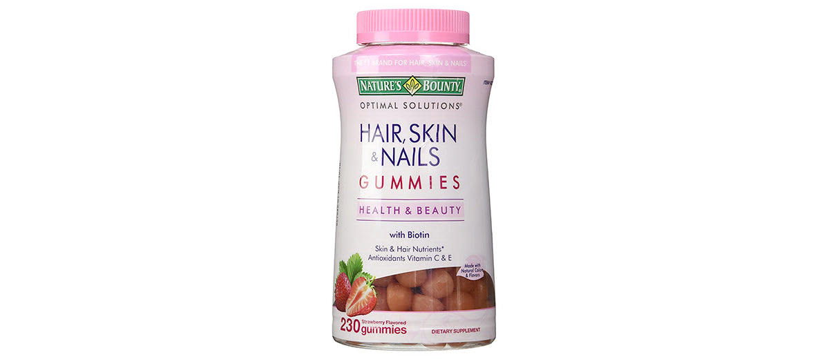 Hair, Skin, & Nails Gummy Vitamins by Nature's Bounty