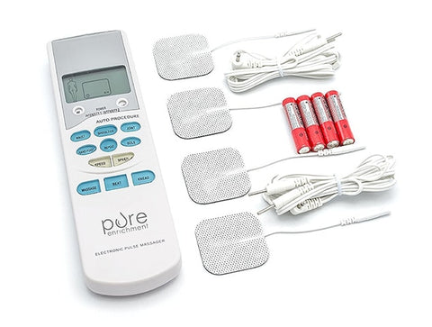 Handheld Tens Unit Muscle Stimulator  by Pure Enrichment