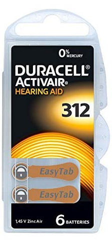 Hearing Aid Batteries by Duracell