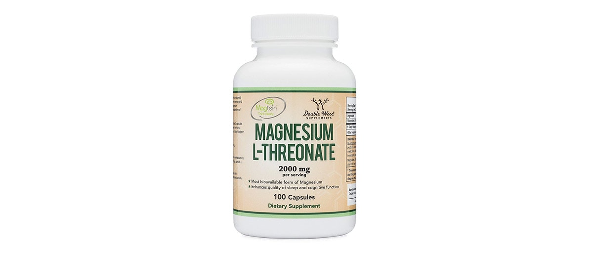 High-Absorption Magnesium L-threonate by Double Wood Supplements