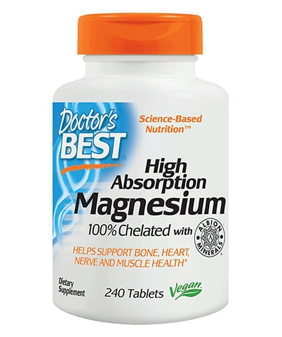 High-Absorption Magnesium Supplement by Doctor's Best