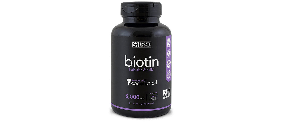 High Potency Biotin Supplements by Sports Research