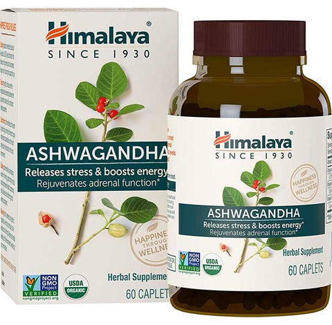 Himalaya Ashwagandha Supplements by Herbal Healthcare