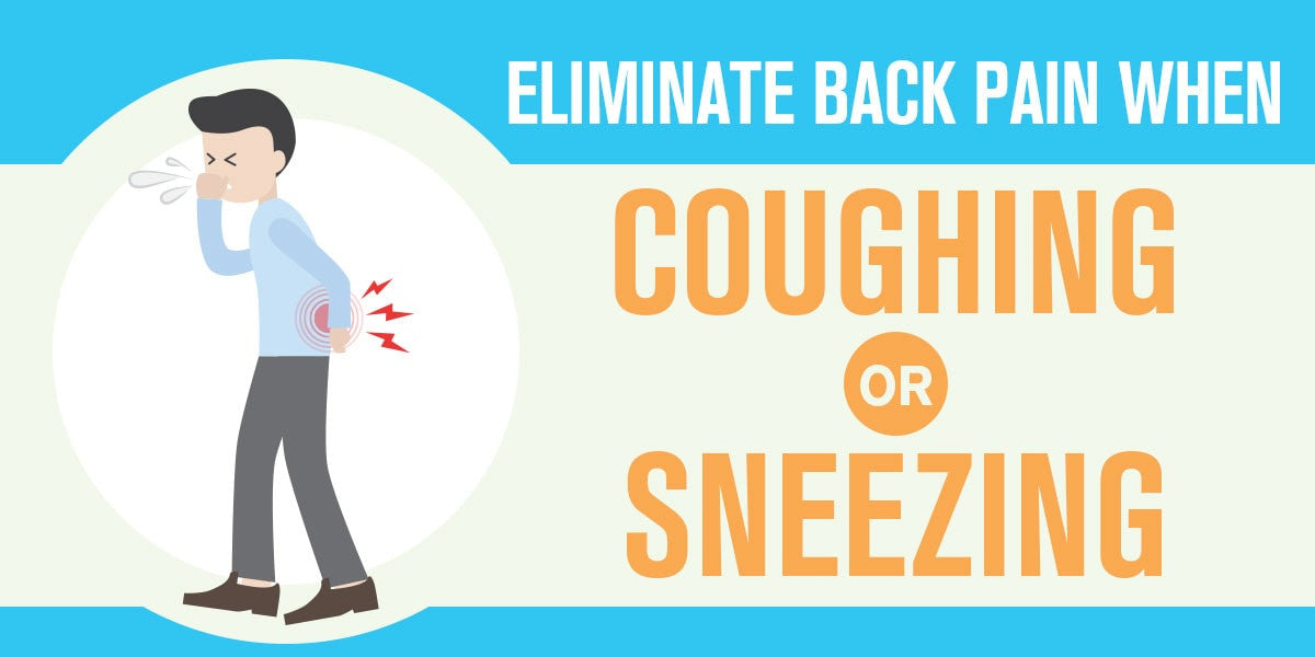 back pain while coughing and sneezing