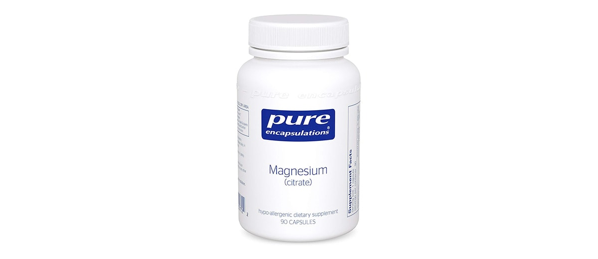 Hypoallergenic Magnesium Citrate by Pure Encapsulations