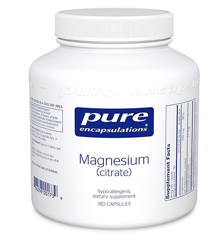 Hypoallergenic Magnesium Supplements by Pure Encapsulation