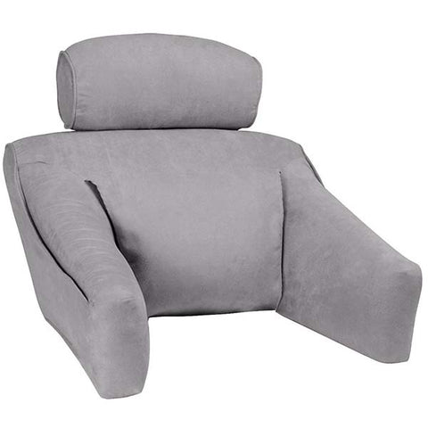 Hypoallergenic Microsuede Back Support Pillow by BedLounge