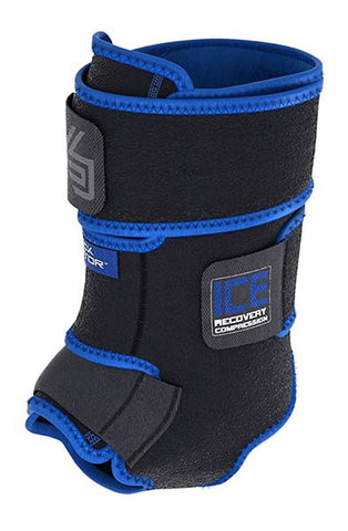 Ice Recovery Compression Ankle Wrap by Shock Doctor