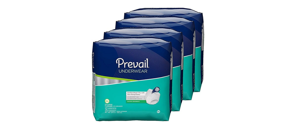 Incontinence Underwear by Prevail