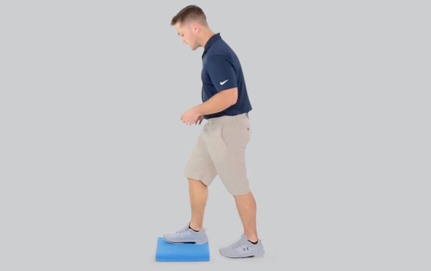 Inner knee pain exercise
