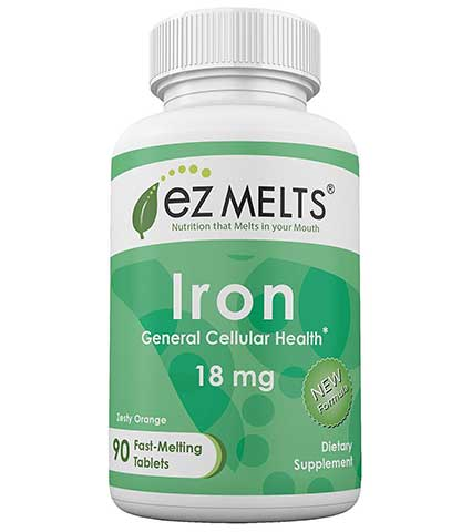 Iron Tablets by EZ Melts