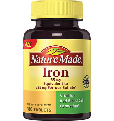 Iron Tablets by Nature Made