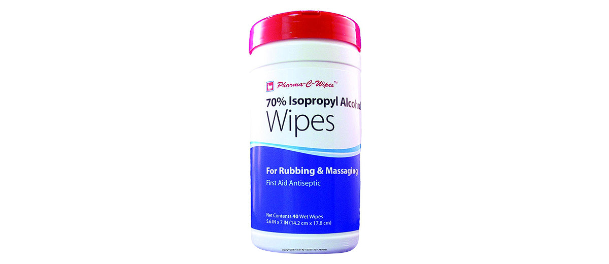 Isopropyl Alcohol Wipes by Pharma-C-Wipes