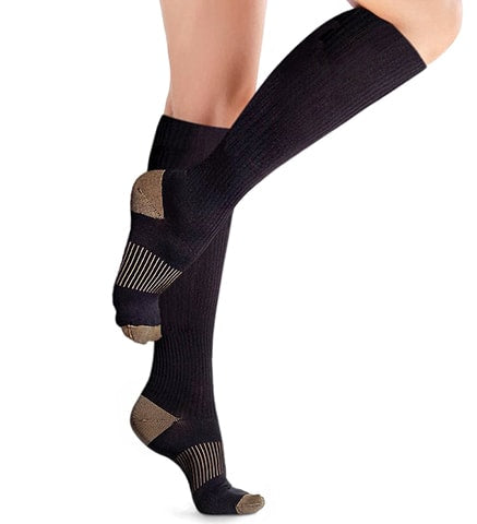 Knee-High Copper Diabetic Socks by Copper Compression