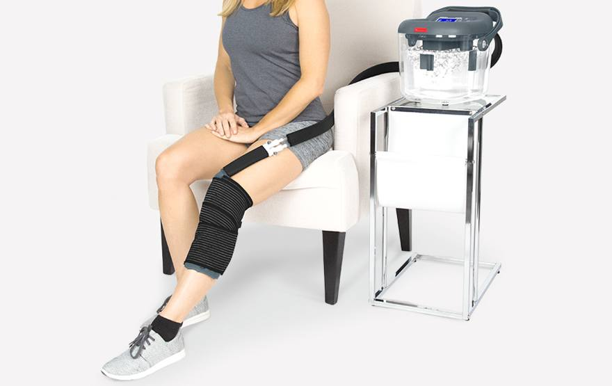 knee ice machine