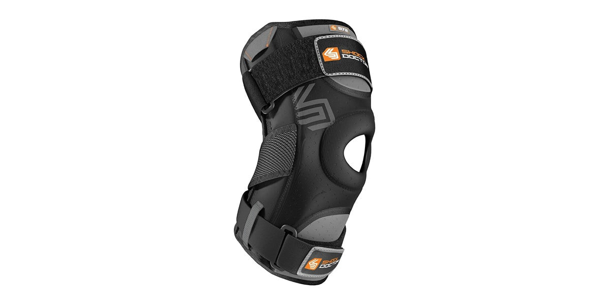 Knee Brace with Dual Hinges by Shock Doctor