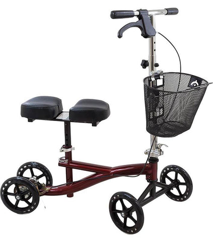 Knee Scooter with Basket by Roscoe Medical
