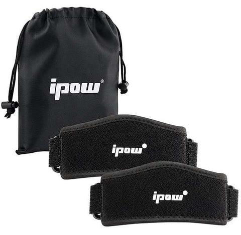 Knee Strap Brace Support by Ipow (2 Pack)