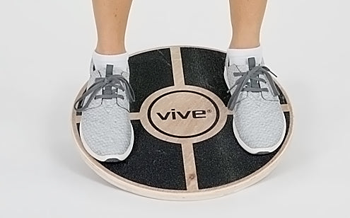 anti slip platform on balance disc