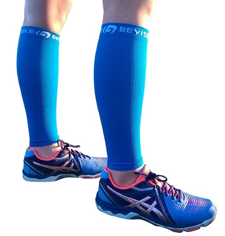 Leg Compression Socks by BeVisible Sports