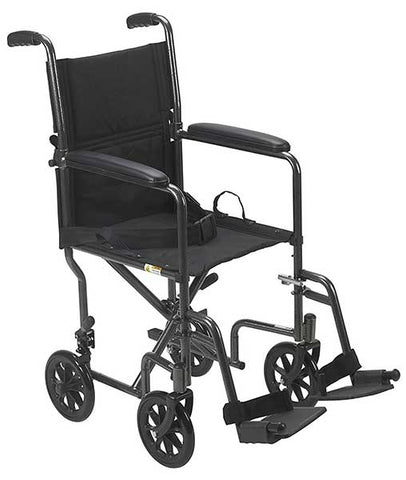 Lightweight Steel Transport Wheelchair by Drive Medical