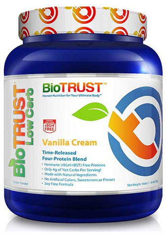 Low Carb Whey & Casein Blend Protein Powder by BioTrust