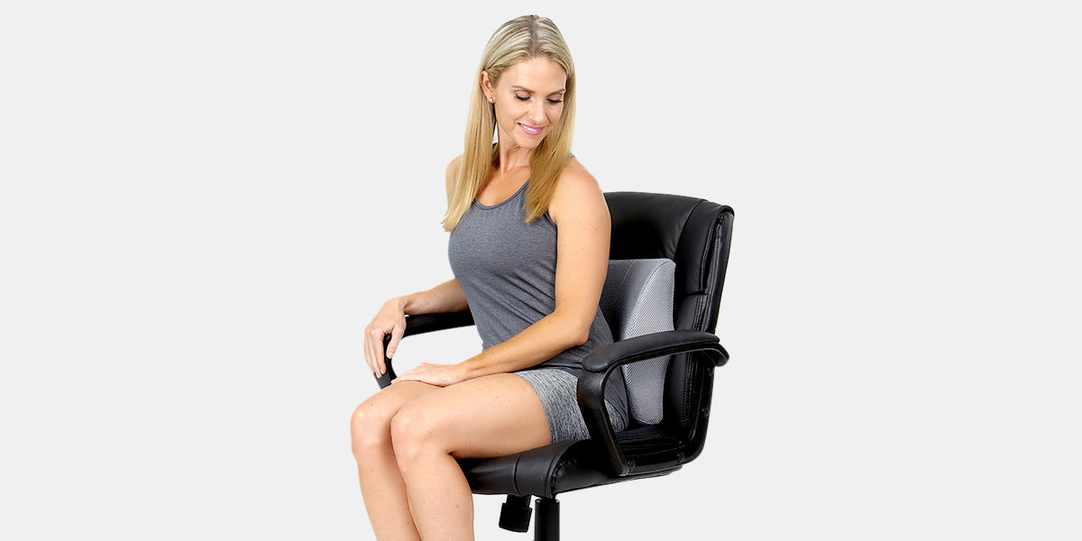 Lumbar Support Pillow by Xtra-Comfort